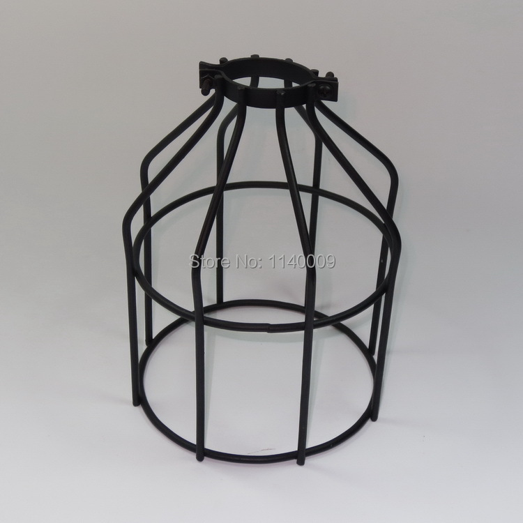 Industrial lamp guard cage vintage lights lamp cage wire cage ...