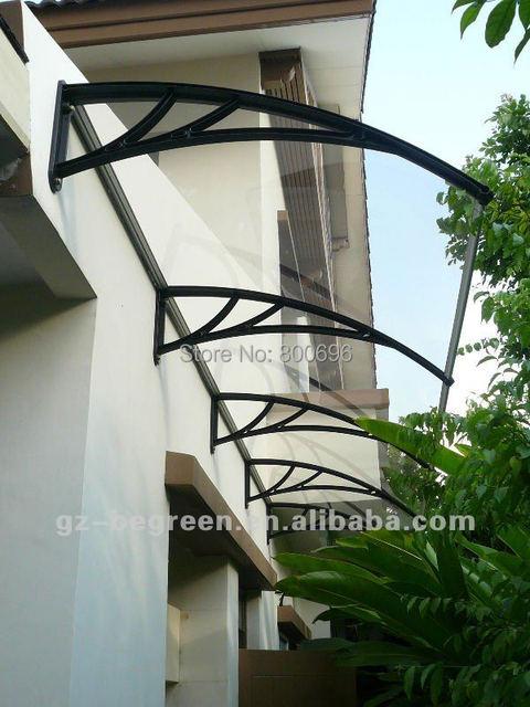 YP80200 80x200 cm 31.5x79in, plástico quente ao ar livre usado Ploycarbonate toldo da janela e porta dossel