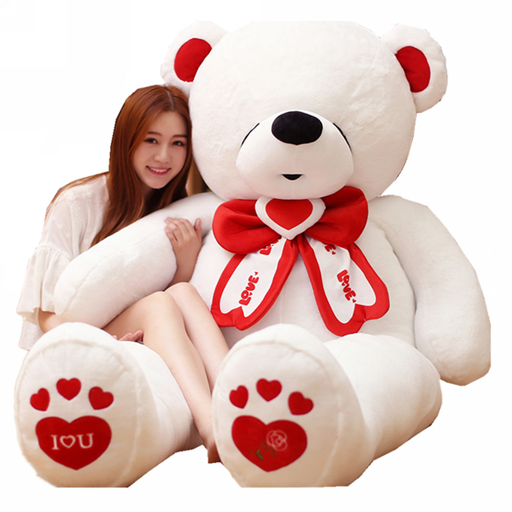 Fancytrader Giant Teddy Bear Stuffed Big Plush Valentines Day Bear I Love You Toys Animals Great Gift for Kids & Lover FT16401 справочник школьника по биологии 6 11 классы