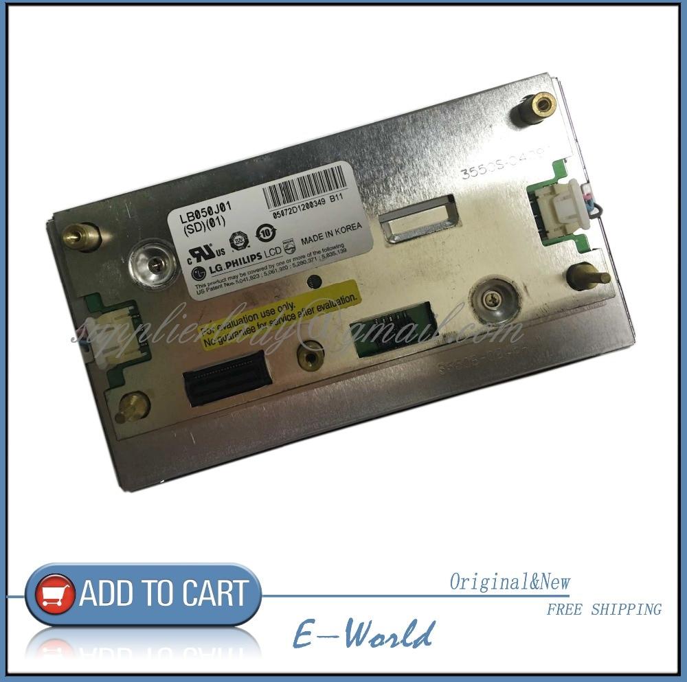 Original 5inch LCD screen LB050J01(SD)(01) LB050J01-SD01 LB050J01 for Car DVD free shipping энциклопедия таэквон до 5 dvd