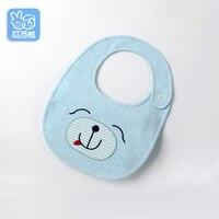 Handmade Lovely Cartoon Soft Bibs Feeding Burp Cloths For Baby