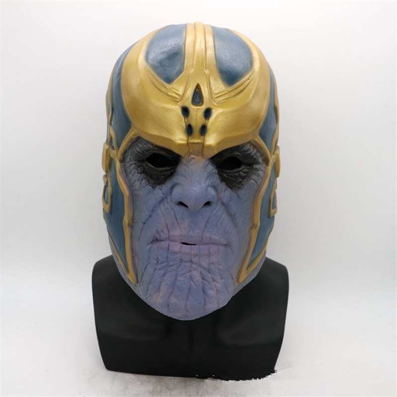 Anime Avengers: Infinity War Thanos Cosplay Mask Kids Adult Latex Full Head Helmet Masks Party Halloween Fancy Ball Cosplay Prop