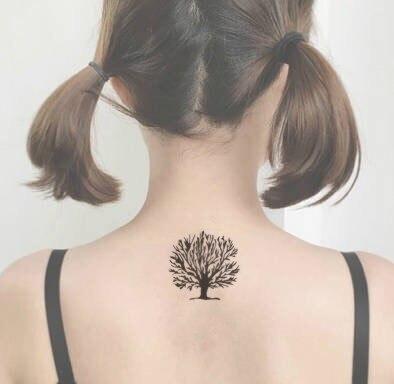 ξalta Calidad Tatuaje árbol Vida Impermeable Y Duradero A422
