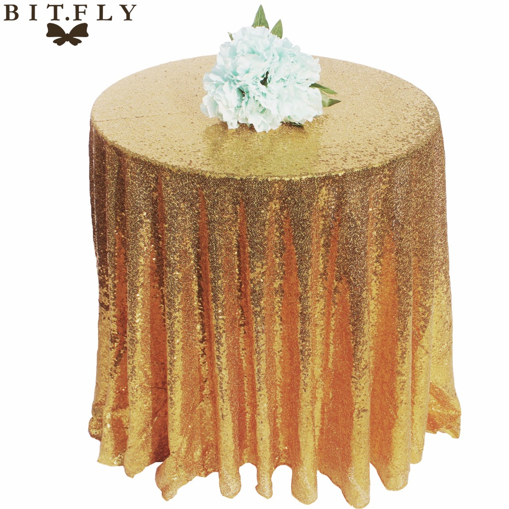 Sequin Sparkly Tablecloth Glitter Wedding Party Banquet Xmas Decor Table Cover
