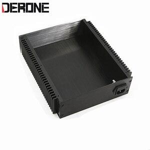 Image 3 - 1 piece aluminum chassis power amplifier shell  case power box preamplifier encasement