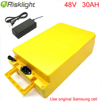 Free Customs Duty 48V 2000W Electric Bike Battery 48v 30ah Lithium Ion Battery Charger BMS