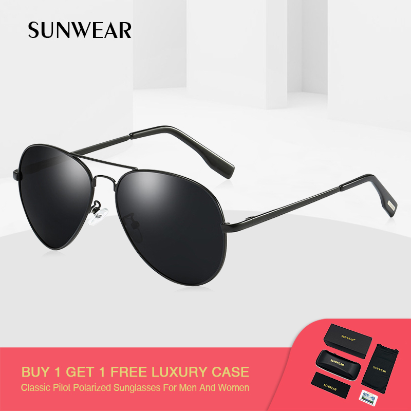 ITSCOOL Aviator Sunglasses for Men Polarized Women UV Protection Lightweight for Driving Fishing
