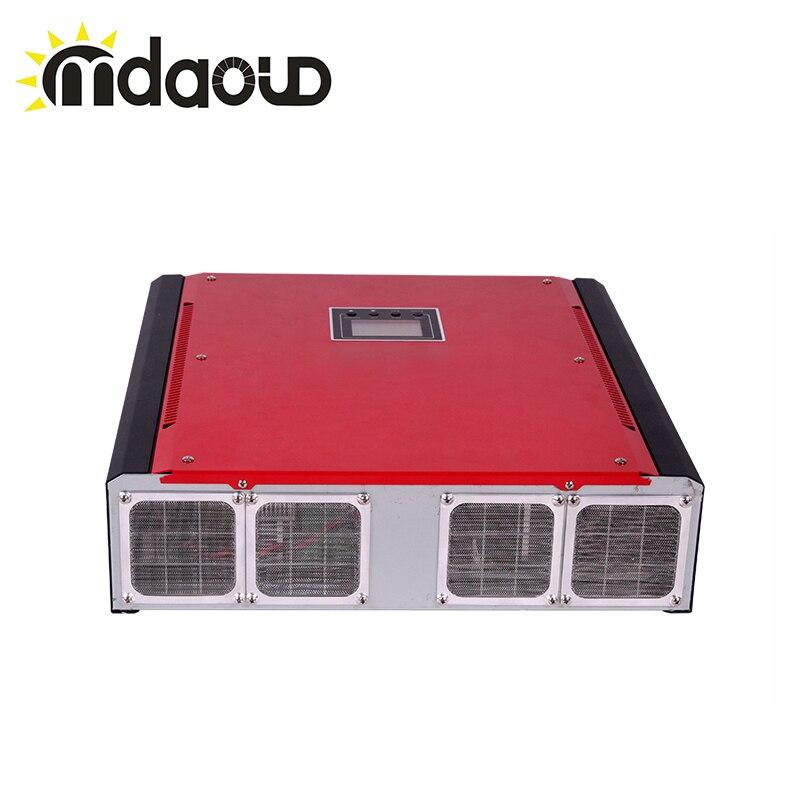 3000 W 1 Fase MPPT On + Off grid inversor solar MPPT entrada Max PV 4500 W de onda senoidal pura com display LCD