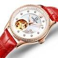 Швейцарские карнавальные женские часы  роскошные Брендовые женские автоматические механические часы  женские водонепроницаемые часы  C0682