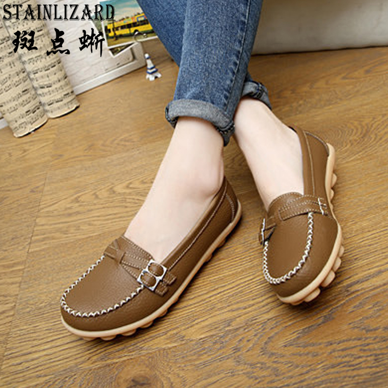 2017 New Fashion Women Flats Leisure Moccasins Loafers Shoes Casual Comfort Driving Flat Women Shoes Free Shipping DT915 2017 new leather women flats moccasins loafers wild driving women casual shoes leisure concise flat in 7 colors footwear 918w