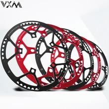 цены на VXM Bicycle Single speed 130BCD Folding bike Crankset BMX Chainwheel 45T/47T/53T/56T/58T Chainring for 170mm Crank Bicycle Parts  в интернет-магазинах
