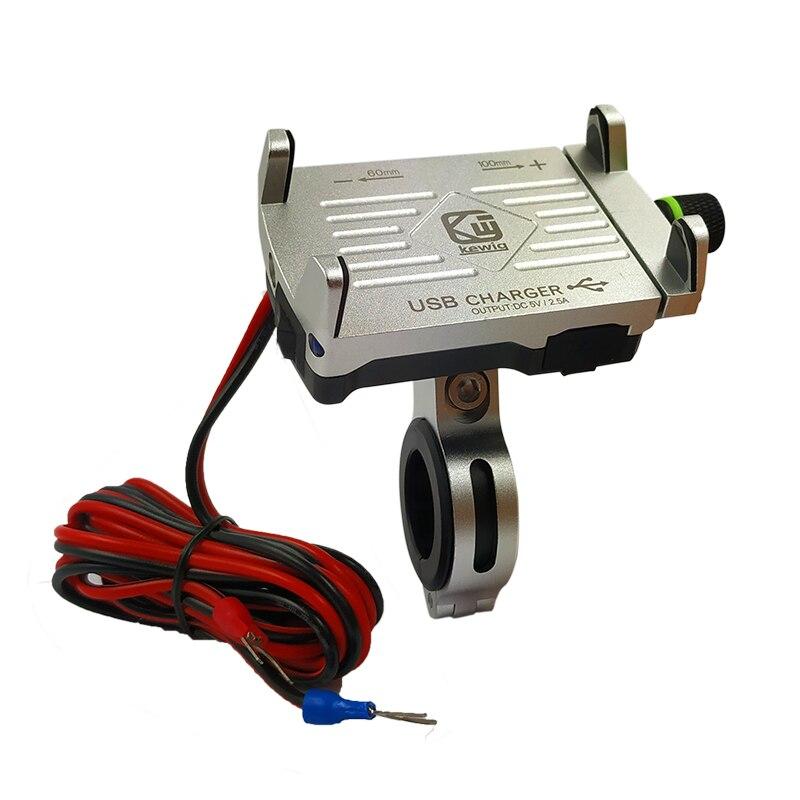 Motorrad & Fahrrad Telefon Halter Lenker Clip Bike Stehen Aluminium Montieren Motobike Lade Halterung 360 Rotierenden Wasserdicht