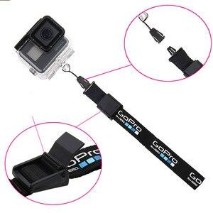 Image 1 - Bilek kordon el kayışı taşıma kemeri güvenli ip kamera anti kayıp kordon GoPro Hero 6 5 4 3 + SJCAM SJ4000 SJ5000 SJ6 SJ7 YI