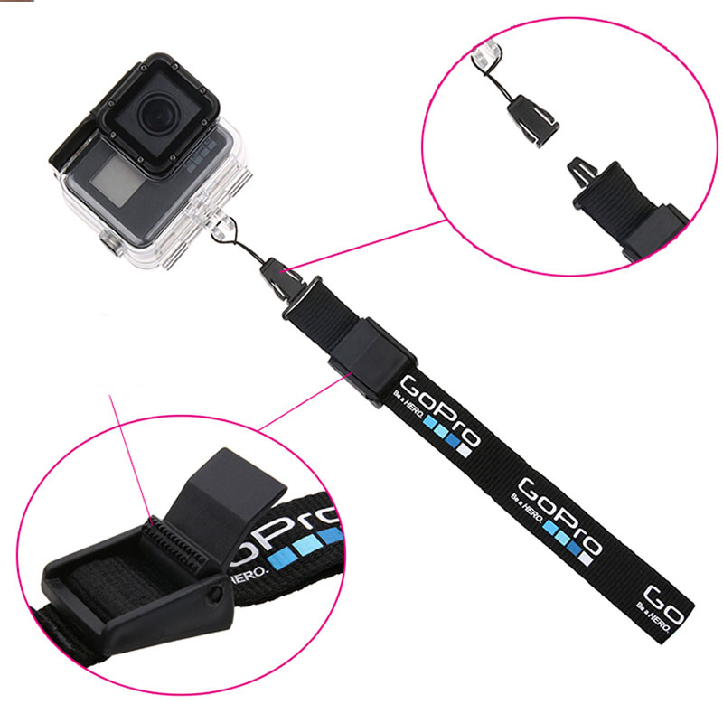 Wrist Lanyard Hand Strap Handing Belt Safe Rope Camera anti-lost lanyard For GoPro Hero 6 5 4 3+ SJCAM SJ4000 SJ5000 SJ6 SJ7 YI