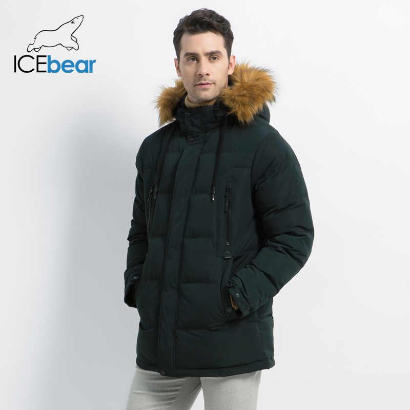 2019 新メンズファッション男性ジャケットフード付き男性のコート厚く暖かい男アパレル高品質メンズ冬パーカー MWD19903D