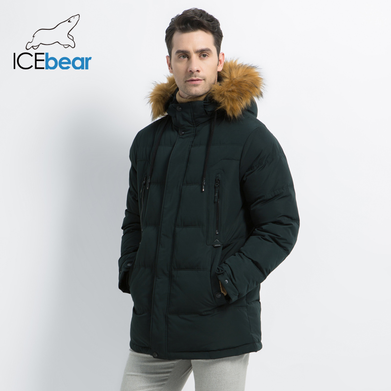 2019 New Men's Clothing Fashion Male Jacket Hooded Men's Coat Thick Warm Man Apparel High Quality Men's Winter Parkas MWD19903D