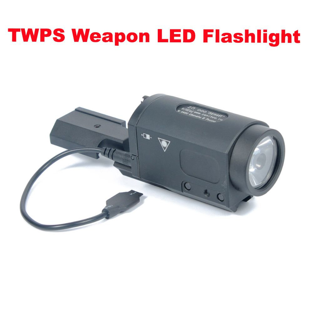New AK47 AK74 AK SD 47 74 Tactical Gun Light AK-SD TWPS Weapon LED Flashlight Fit 20mm Picatinny Rail Momentary Strobe Output aimtis m300b mini scout light tactical rail light rifle hunting flashlight constant momentary output for 20mm picatinny rail