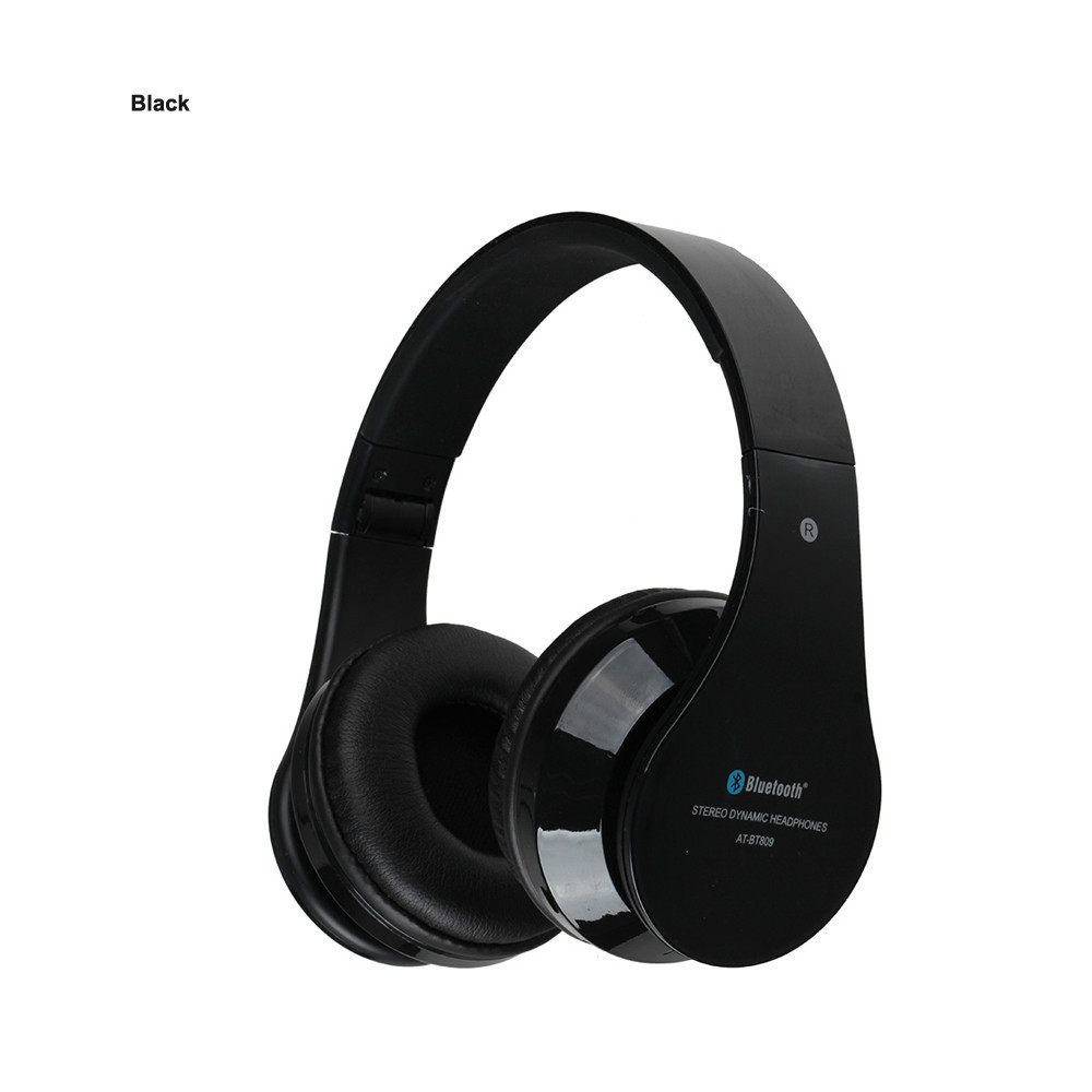 AITA AT-BT809 Bluetooth Headset Foldable Wireless Stereo Headphones with Mic FM TF Slot for iPhone iPad PC Fone De Ouvido foldable on ear wireless stereo bluetooth headphones headset supports fm