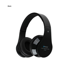 AITA AT-BT809 Bluetooth Headset Foldable Wireless Stereo Headphones with Mic FM TF Slot for iPhone iPad PC Fone De Ouvido