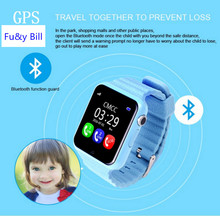 GPS smart watch kids watch V7k with camera/facebook SOS Call Location DevicerTracker for Kid Safe Anti-Lost Monitor PK Q90 Q80
