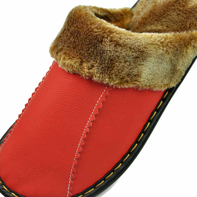 Xiuteng ขายร้อนผู้หญิงฤดูหนาวกันน้ำรองเท้าแตะคุณภาพสูงหนังนุ่มสบายๆผู้หญิงรองเท้าคู่รองเท้าแตะ