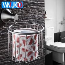 Toilet Paper Holder Decorative Wall Mounted Paper Towel Holder Stainless Steel Bathroom Roll Paper Holder Basket Tissue Box стоимость