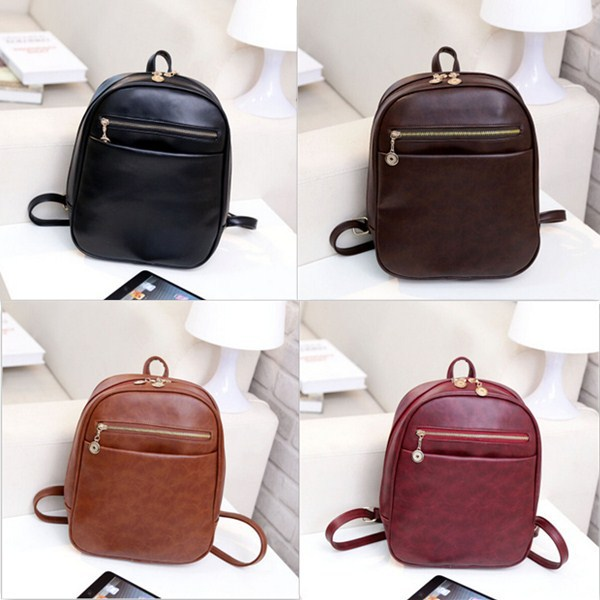 Aliexpress.com : Buy Popular new pu leather school bag women ...