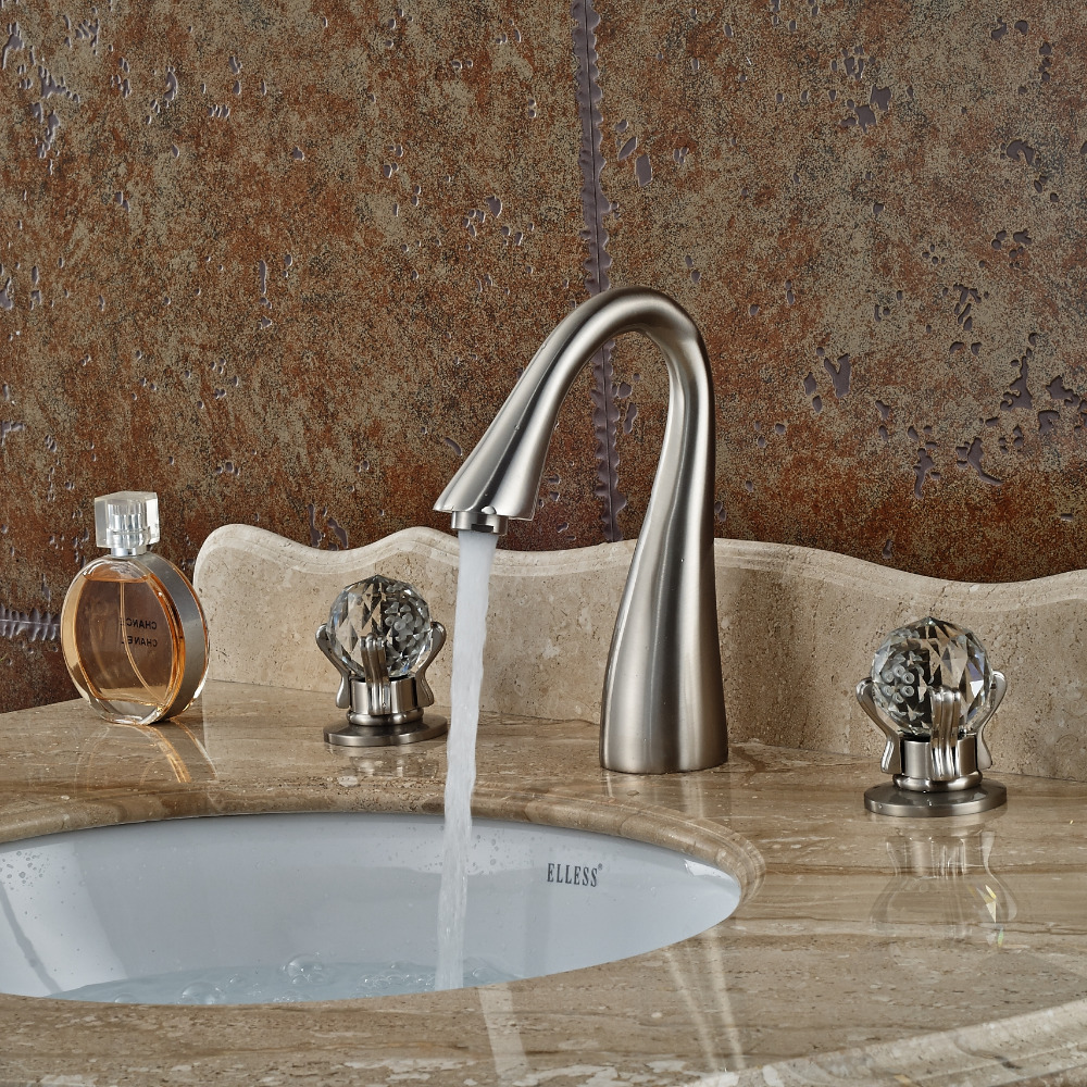 Bathroom Faucets Wholesale popular crystal faucet-buy cheap crystal faucet lots from china