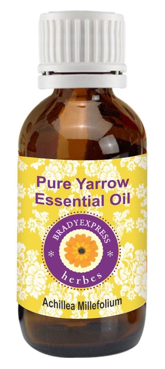 Livraison gratuite huile essentielle Achillea millefolium 100% de qualité thérapeutique naturelle 5 ML