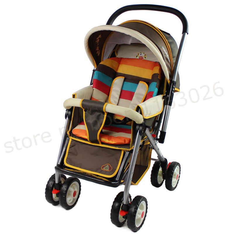 Подушечка Для сиденья детской коляски, коляски, матрасы, наволочка, детская коляска, автомобиль, зонт, тележка, BB автомобиль, термоутолщенная Подушка ma