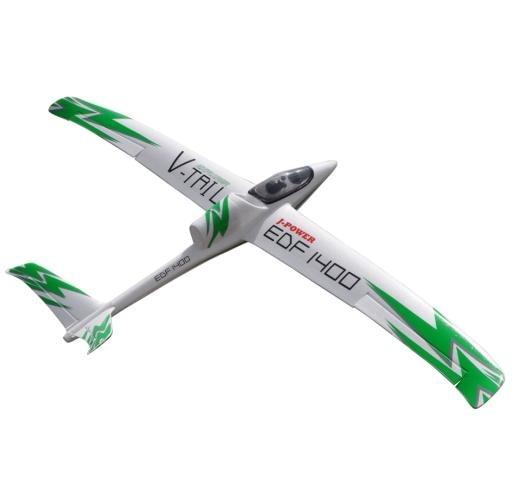 Explorateur 50mm EDF 1400mm v tail planeur EPO RC jet avion JA 12-in Avions télécommandés from Jeux et loisirs    2