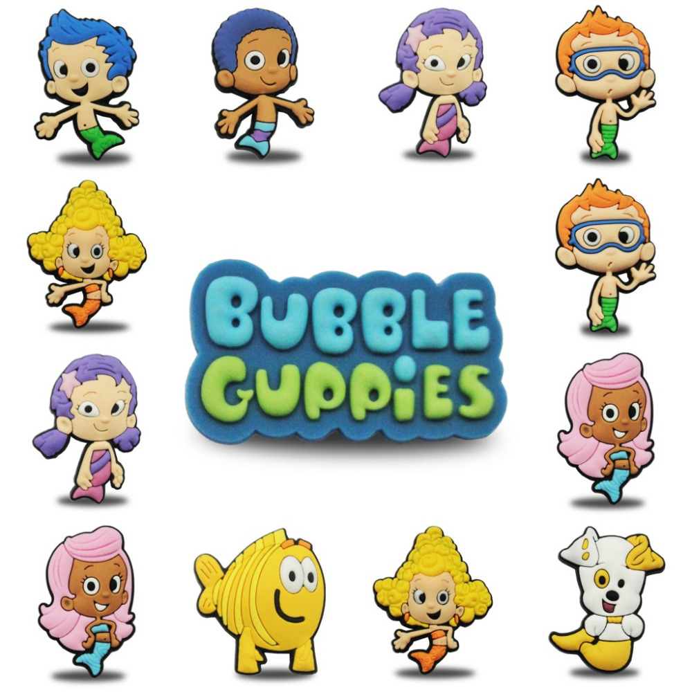 24pcs Bubble Guppies cupcake wrappers kids birthday party