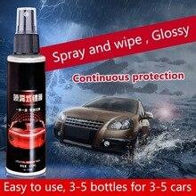9 H 100 ml Auto Placcatura Liquido Anti-graffio Spray Tipo di Cristallo di Ceramica di Rivestimento Lacca Auto Vernice Cura Lucido vetro Coat proteggere