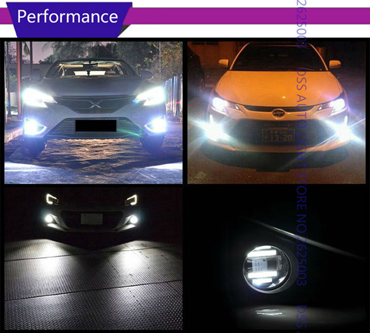 LED Fog Light with Daytime Running Light DRL Front Fog Lamps for Lexus IS-F IS250 IS350 GS350 GS460 GS450h CT200h ES300h ES350 LX570 HS250h RX350 RX450h Scion xA (15)