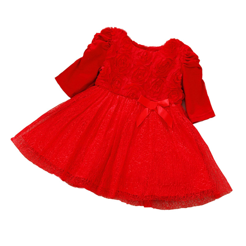 Aliexpress.com : Buy Baby Girl Dress Party Dresses Long Short ...