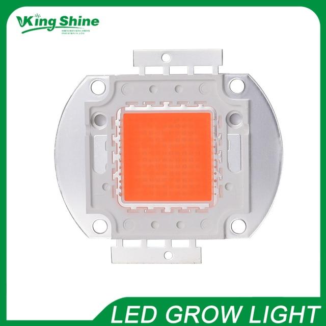 30 Вт светодио дный светодиодный светящийся чип Epistar полный спектр 380-840nm 30 Вт светодио дный светодиодный светящийся массив для внутреннего DIY роста и цветения