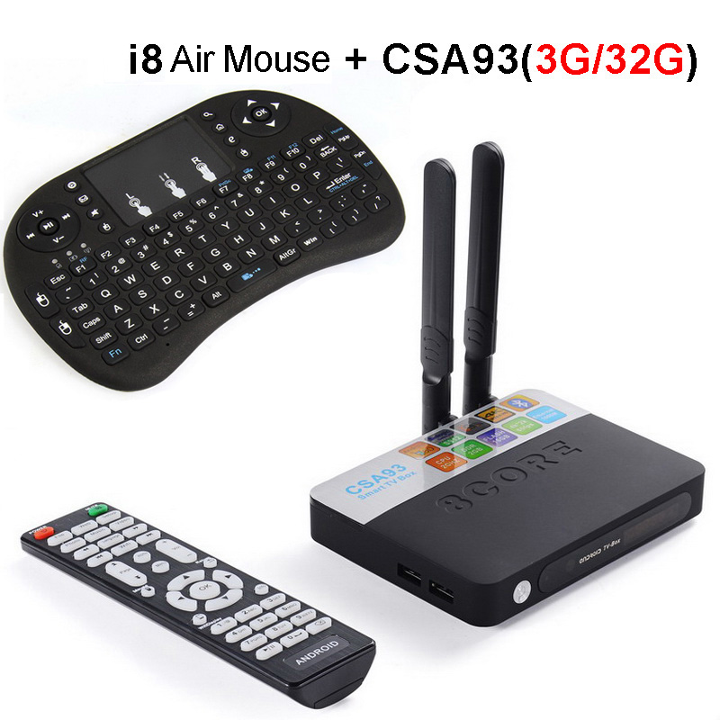 3GB RAM 32GB ROM Android 7.1 TV Box 2GB 16GB Amlogic S912 Octa Core CSA93 Streaming Smart Media Player Wifi BT4.0 4K TVbox VS Mi x96 android 6 0 tv box amlogic s905x max 2gb ram 16gb rom quad core wifi hdmi 4k 2k hd smart set top box media player pk a95x