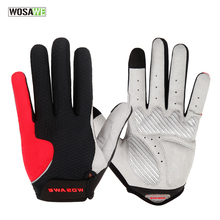 WOSAWE Upgrade Cycling Gloves Men Women Racing Motorcycle Gloves Breathable Ciclismo Touch Screen Bike Bicycle Gloves