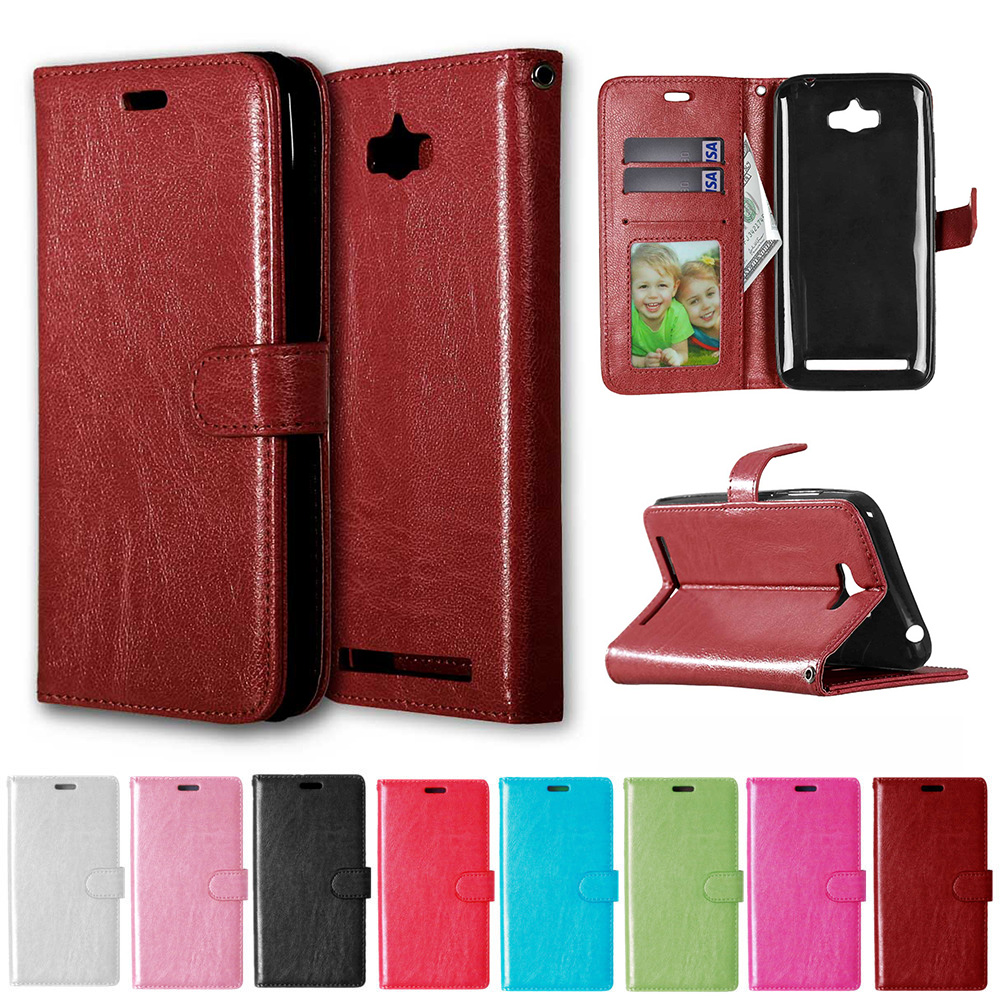 Case for <font><b>Asus</b></font> <font><b>Z010D</b></font> Zenfone Max ZenfoneMax ZC550KL ZC ZC550 550 550KL KL Flip Case Phone Leather Cover for <font><b>ASUS</b></font>_<font><b>Z010D</b></font> Z010DA image