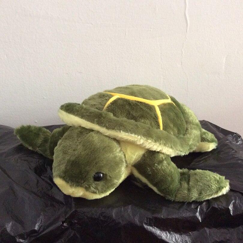Freies verschiffen 1 stücke Grün Meeresschildkröten/Schildkröte Plüsch Spielzeug kleine Schildkröte weichen kinder puppe für beste geschenk