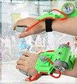 Pistola de agua de mano del niño del verano nuevos foems muñeca longitud tipo pistola de agua de juguete