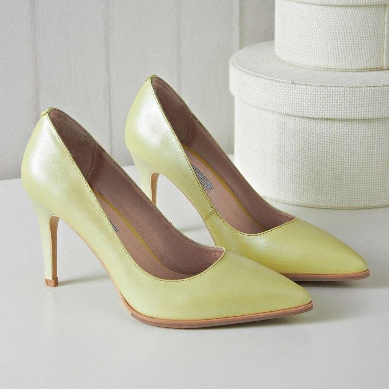 Ladies Purple High Heel Shoes