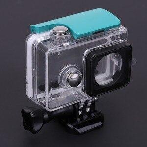 Image 5 - חם 45M מתחת למים צלילה עמיד למים מקרה עבור Xiaomi יי 1 ספורט מצלמה עמיד למים מגן תיבת לxiaomi יי 1 פעולה מצלמה