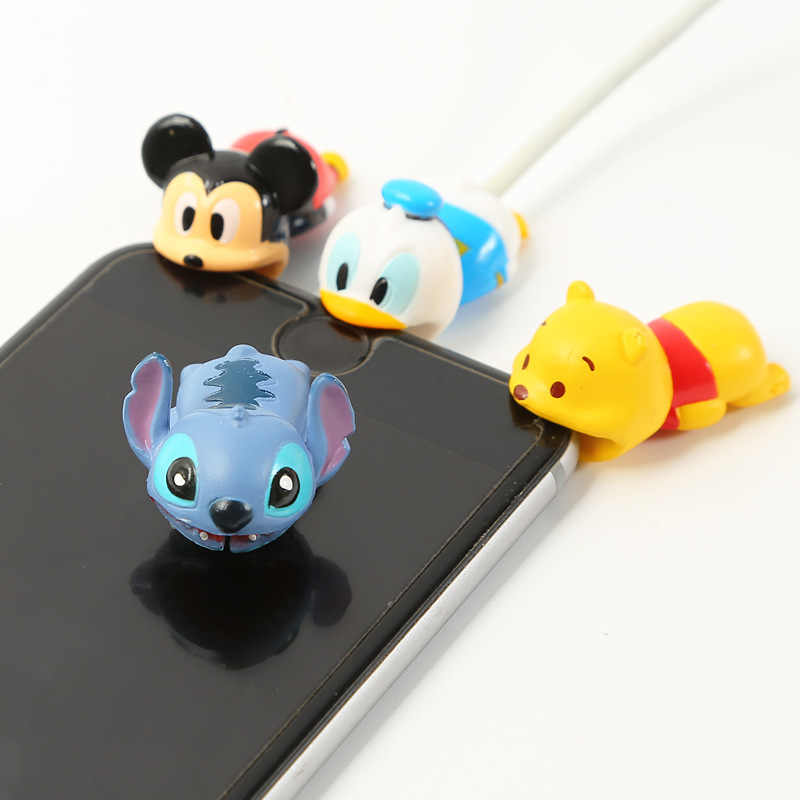 Newest Cable Accessory Cable Animal Bites Cartoon USB Cable Cord Protector For iphone 8 7 6 USB cable protection Sleeve Protect