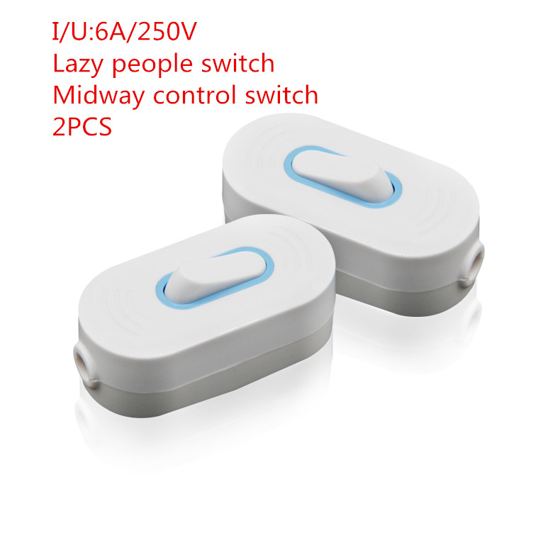 Gentil 2PCS YT2043 Lazy People Switch Control Button Switch Small Power Switch  Midway Control Switch 6 A 250 V Free Shipping In Switches From Lights U0026  Lighting On ...