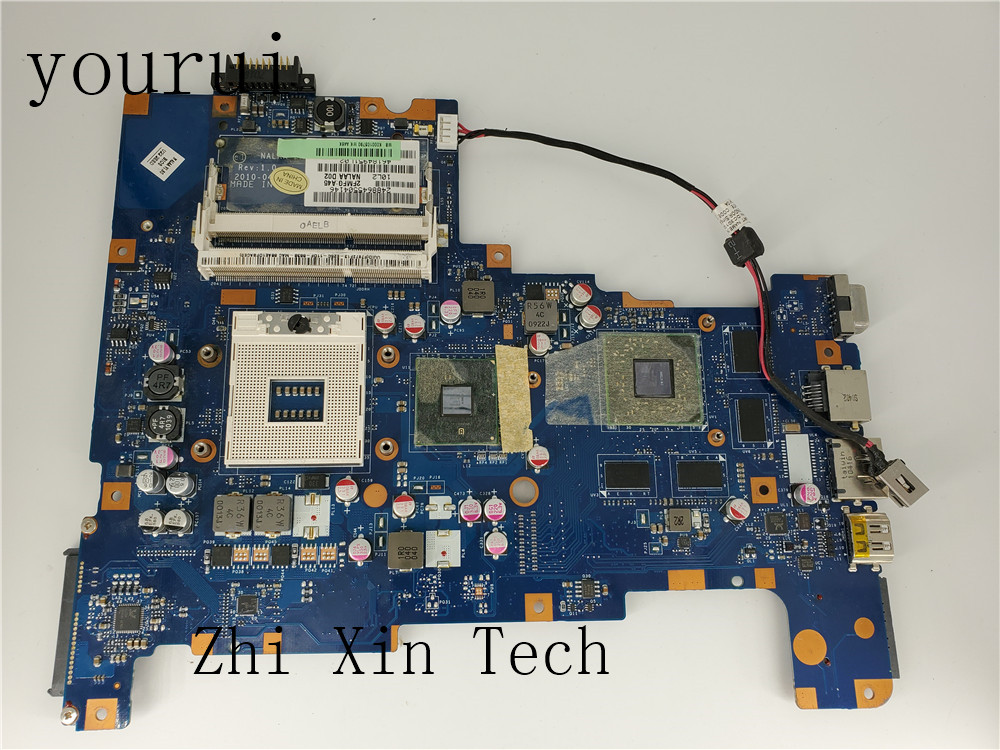 Yourui NALAA LA-6042P For Toshiba Satellite L670 L675 Laptop Motherboard  K000103790 DDR3 Non-Integrated Fully Teste Work