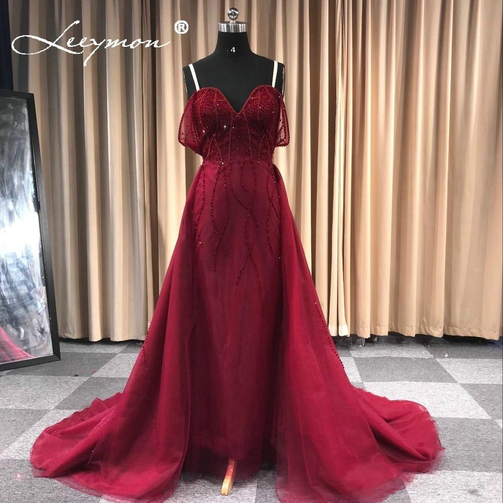 New Burgundy Mermaid   Prom     Dresses   Off Shoulder Beaded Evening   Dresses   robe de soiree Long Party   Dress   Elegant Formal   Dress   Long