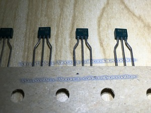Image 1 - 100 Teile/los MA177 TO92 0.1A, 2 ELEMENT, SILIZIUM, SIGNAL DIODE