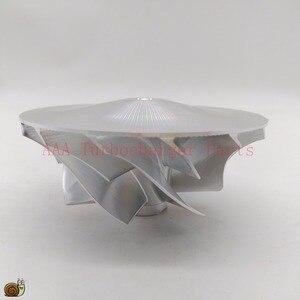 Image 4 - Turbocompressor de pneu de bileta hx40/hx40w, peças do turbocompressor da roda 60x86mm, 7/7