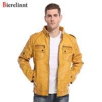 Bierelinnt Cotton Good Quality Men Jacket 2017 New Arrival Retail Wholesale Hot Sale Casual Fashion Jacket